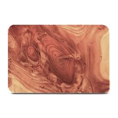 Fantastic Wood Grain,brown Plate Mats