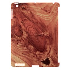 Fantastic Wood Grain,brown Apple iPad 3/4 Hardshell Case (Compatible with Smart Cover)