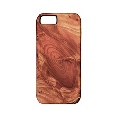Fantastic Wood Grain,brown Apple iPhone 5 Classic Hardshell Case (PC+Silicone)