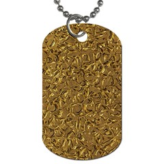 Sparkling Metal Art A Dog Tag (One Side)