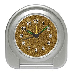 Sparkling Metal Art A Travel Alarm Clocks