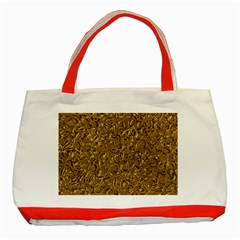 Sparkling Metal Art A Classic Tote Bag (Red)