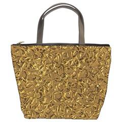 Sparkling Metal Art A Bucket Bags