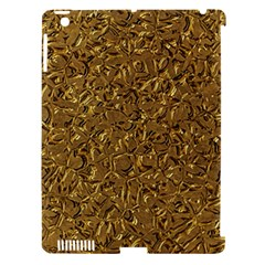 Sparkling Metal Art A Apple iPad 3/4 Hardshell Case (Compatible with Smart Cover)