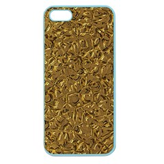 Sparkling Metal Art A Apple Seamless iPhone 5 Case (Color)