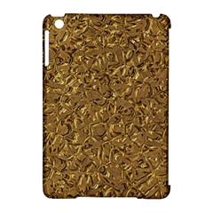 Sparkling Metal Art A Apple iPad Mini Hardshell Case (Compatible with Smart Cover)