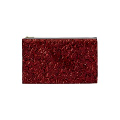 Sparkling Metal Art B Cosmetic Bag (Small)