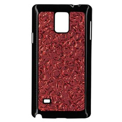 Sparkling Metal Art B Samsung Galaxy Note 4 Case (Black)