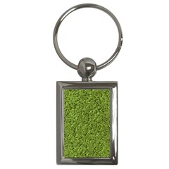 Sparkling Metal Art C Key Chains (Rectangle)