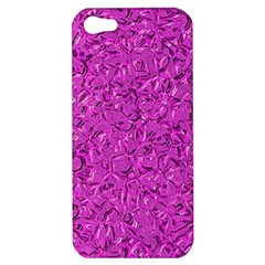 Sparkling Metal Art D Apple iPhone 5 Hardshell Case