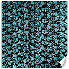 Roses pattern Canvas 16  x 16