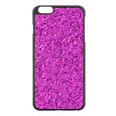 Sparkling Metal Art D Apple iPhone 6 Plus/6S Plus Black Enamel Case