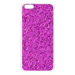 Sparkling Metal Art D Apple Seamless iPhone 6 Plus/6S Plus Case (Transparent)