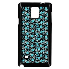 Roses pattern Samsung Galaxy Note 4 Case (Black)