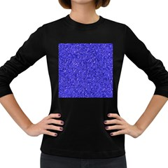 Sparkling Metal Art E Women s Long Sleeve Dark T-Shirts