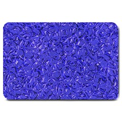Sparkling Metal Art E Large Doormat