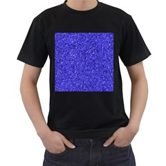 Sparkling Metal Art E Men s T-Shirt (Black)