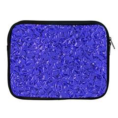 Sparkling Metal Art E Apple iPad 2/3/4 Zipper Cases