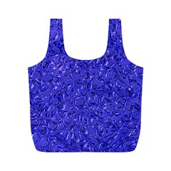 Sparkling Metal Art E Full Print Recycle Bags (M)