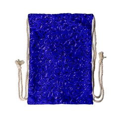 Sparkling Metal Art E Drawstring Bag (Small)