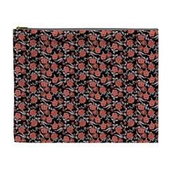 Roses pattern Cosmetic Bag (XL)