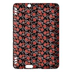 Roses pattern Kindle Fire HDX Hardshell Case