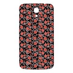 Roses pattern Samsung Galaxy Mega I9200 Hardshell Back Case