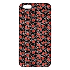 Roses pattern iPhone 6 Plus/6S Plus TPU Case