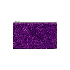 Sparkling Metal Art F Cosmetic Bag (Small)