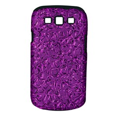 Sparkling Metal Art F Samsung Galaxy S III Classic Hardshell Case (PC+Silicone)