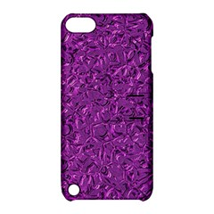 Sparkling Metal Art F Apple iPod Touch 5 Hardshell Case with Stand