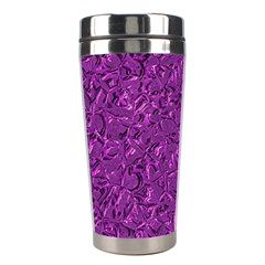Sparkling Metal Art F Stainless Steel Travel Tumblers