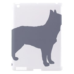 Australian Stumpy Tail Cattle Dog Silo Blue Apple iPad 3/4 Hardshell Case (Compatible with Smart Cover)