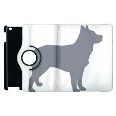 Australian Stumpy Tail Cattle Dog Silo Blue Apple iPad 3/4 Flip 360 Case