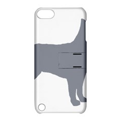 Australian Stumpy Tail Cattle Dog Silo Blue Apple iPod Touch 5 Hardshell Case with Stand