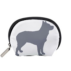 Australian Stumpy Tail Cattle Dog Silo Blue Accessory Pouches (Small)