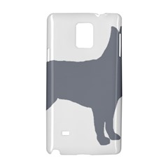 Australian Stumpy Tail Cattle Dog Silo Blue Samsung Galaxy Note 4 Hardshell Case
