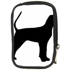 Black And Tan Coonhound Silo Black Compact Camera Cases