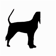 Black And Tan Coonhound Silo Black Small Garden Flag (Two Sides)