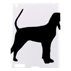 Black And Tan Coonhound Silo Black Apple iPad 3/4 Hardshell Case