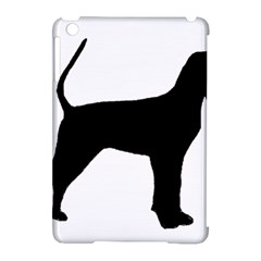 Black And Tan Coonhound Silo Black Apple iPad Mini Hardshell Case (Compatible with Smart Cover)
