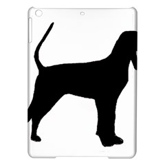 Black And Tan Coonhound Silo Black iPad Air Hardshell Cases