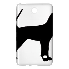 Black And Tan Coonhound Silo Black Samsung Galaxy Tab 4 (8 ) Hardshell Case