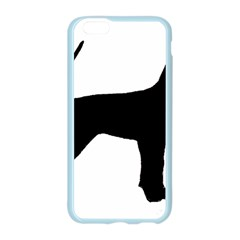 Black And Tan Coonhound Silo Black Apple Seamless iPhone 6/6S Case (Color)