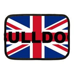 Bulldog England United Kingdom Name Flag Netbook Case (Medium)