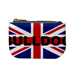 Bulldog England United Kingdom Name Flag Mini Coin Purses