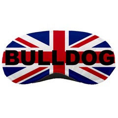 Bulldog England United Kingdom Name Flag Sleeping Masks