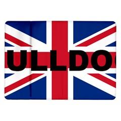 Bulldog England United Kingdom Name Flag Samsung Galaxy Tab 10.1  P7500 Flip Case