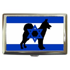 Cannan Dog Silhouette Flag Of Israel Cigarette Money Cases