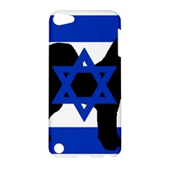 Cannan Dog Silhouette Flag Of Israel Apple iPod Touch 5 Hardshell Case